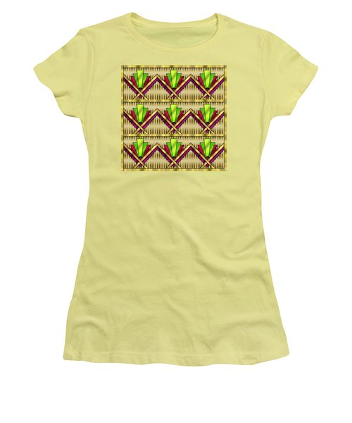 Art Deco Multiview 18  Women's T-Shirt (Athletic Fit)