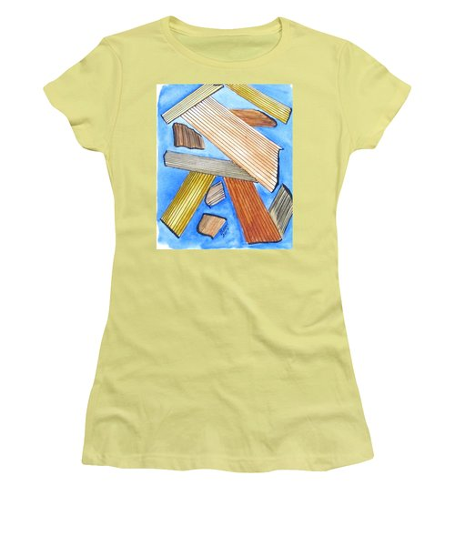Art Doodle No. 24 Women's T-Shirt (Athletic Fit)