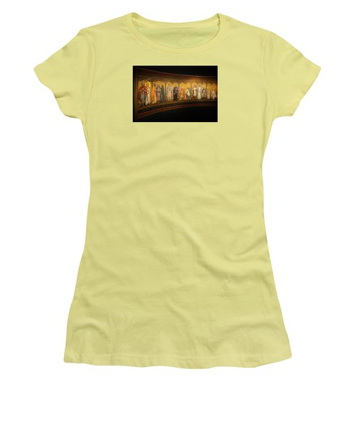 Women's T-Shirt (Junior Cut) featuring the photograph Art Mural by Jeremy Lavender Photography