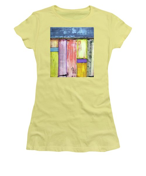 Art Print Abstract 47 Women's T-Shirt (Athletic Fit)
