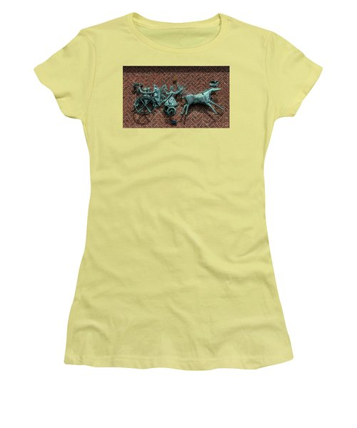 Art Work In Ystad, Sweden Women's T-Shirt (Junior Cut) by Martina Thompson