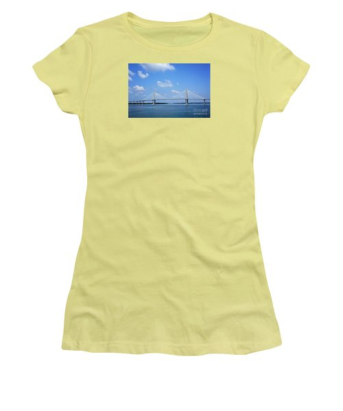 Arthur Ravenel Jr. Bridge - Charleston Women's T-Shirt (Athletic Fit)