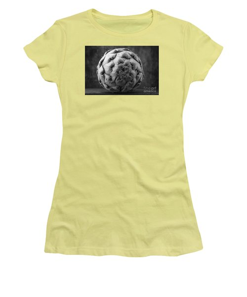 Artichoke Black And White Still Life Two Women's T-Shirt (Athletic Fit)