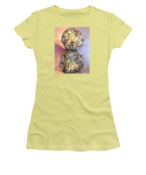 Artichokes In The Sink Women's T-Shirt (Junior Cut) by Olivier Calas