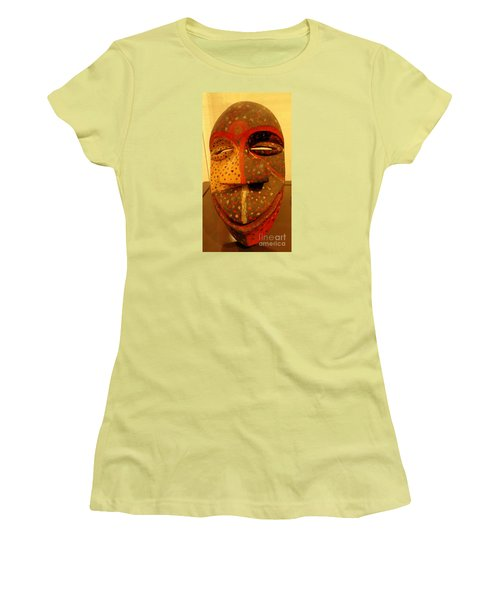 Artifact Mask Of Angola Women's T-Shirt (Athletic Fit)