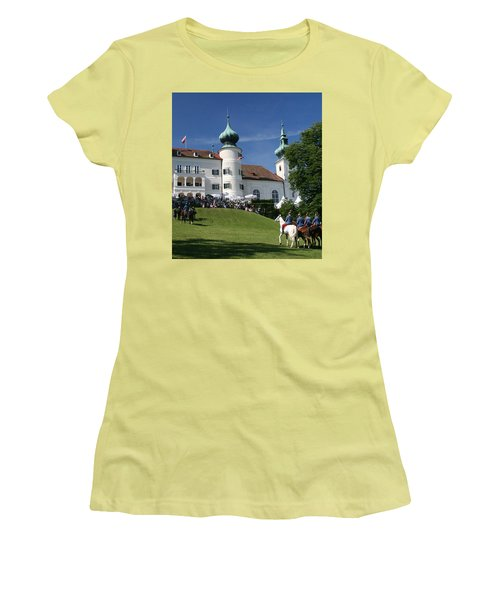 Artstetten Castle In June Women's T-Shirt (Athletic Fit)