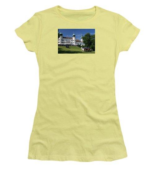 Artstetten Castle In June Women's T-Shirt (Athletic Fit)