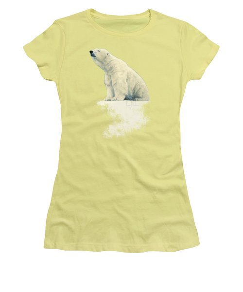 Something In The Air Women's T-Shirt (Junior Cut) by Lucie Bilodeau