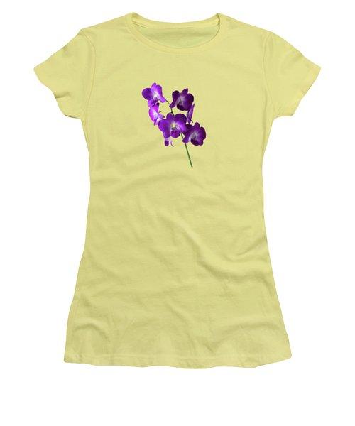 Floral Women's T-Shirt (Athletic Fit)