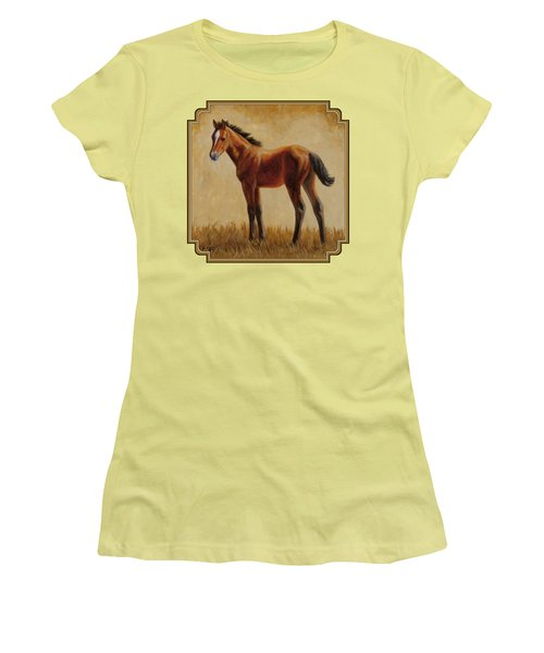 Afternoon Glow Women's T-Shirt (Junior Cut) by Crista Forest