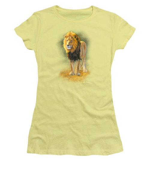 In His Prime Women's T-Shirt (Junior Cut) by Lucie Bilodeau