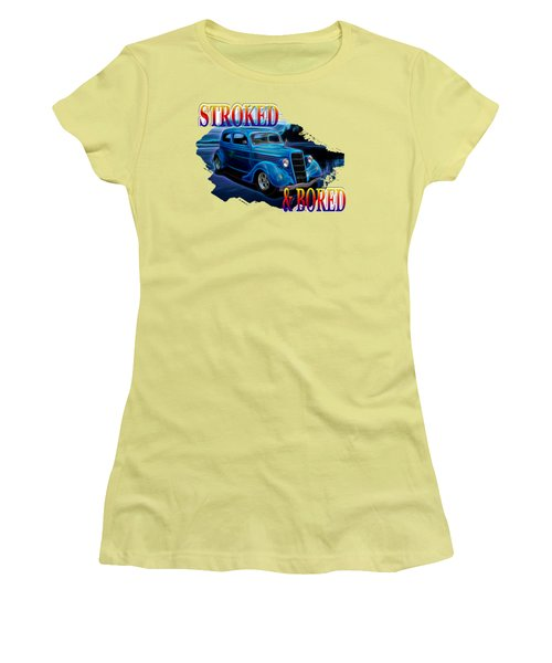 1935 Ford 2-door Sedan Women's T-Shirt (Athletic Fit)