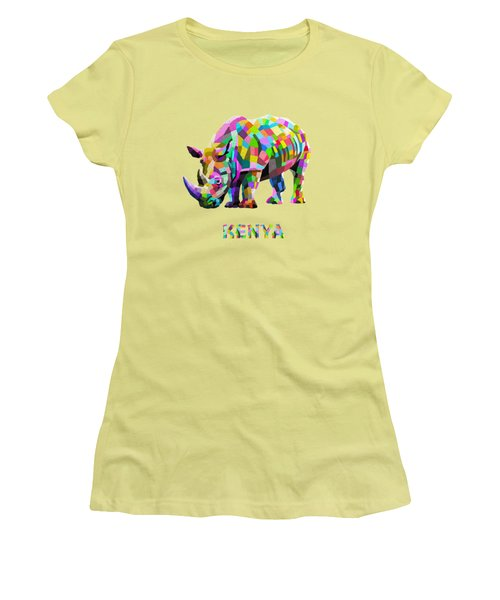 Wild Rainbow Women's T-Shirt (Athletic Fit)