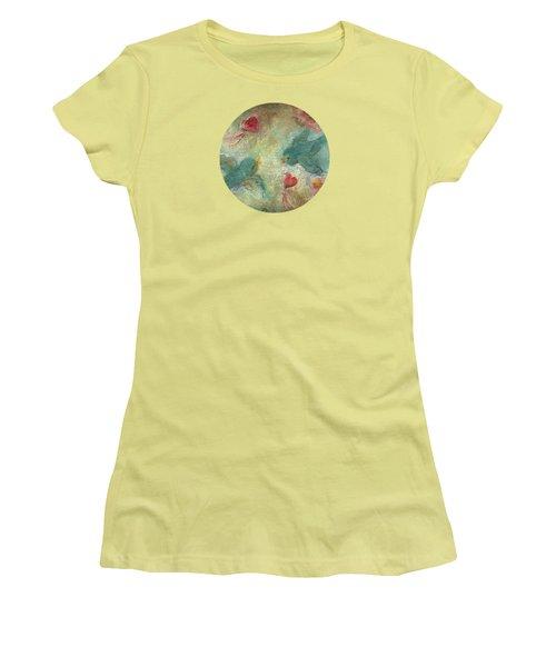 Lovebirds Women's T-Shirt (Junior Cut) by Mary Wolf