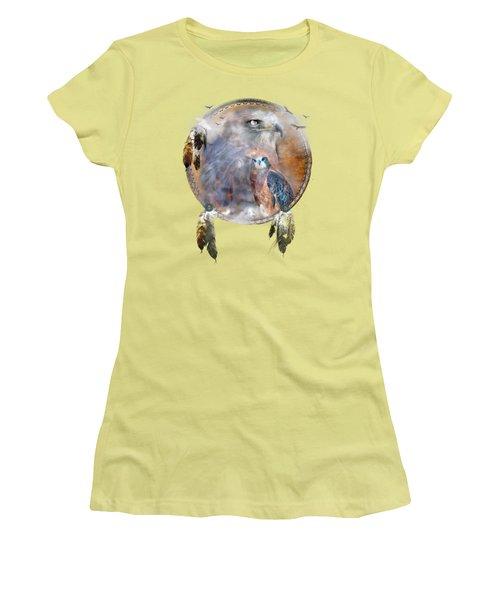 Dream Catcher - Hawk Spirit Women's T-Shirt (Junior Cut)