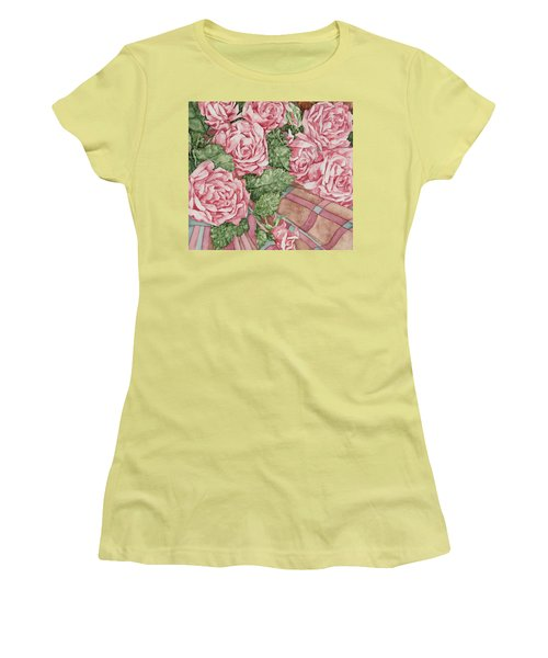 Love Of Roses Women's T-Shirt (Athletic Fit)
