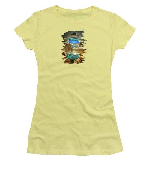 Beach Treasures - Faith Women's T-Shirt (Junior Cut) by Thom Zehrfeld