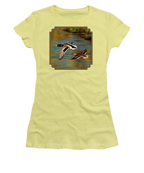 Golden Pond Women's T-Shirt (Junior Cut)