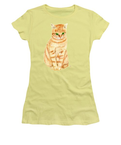 A Ginger Tabby Cat Women's T-Shirt (Athletic Fit)