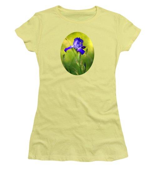 Violet Iris Women's T-Shirt (Junior Cut)