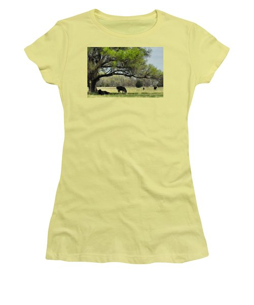 Shady Rest Women's T-Shirt (Athletic Fit)