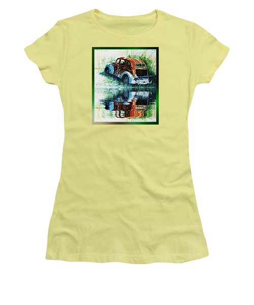 As Time Goes By. . . Women's T-Shirt (Junior Cut) by Hartmut Jager