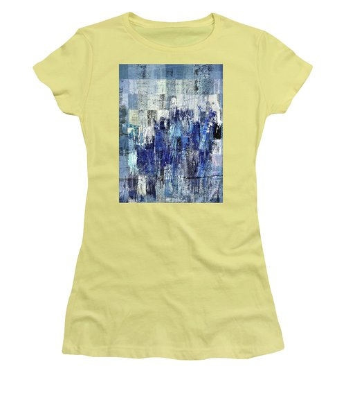 Women's T-Shirt (Junior Cut) featuring the digital art Ascension - C03xt-160at2c by Variance Collections