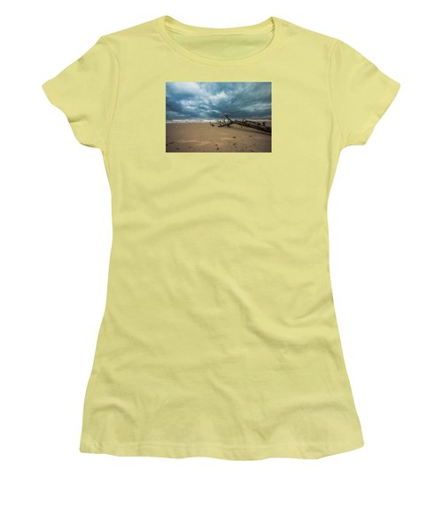 Ashdod Seascape Women's T-Shirt (Athletic Fit)