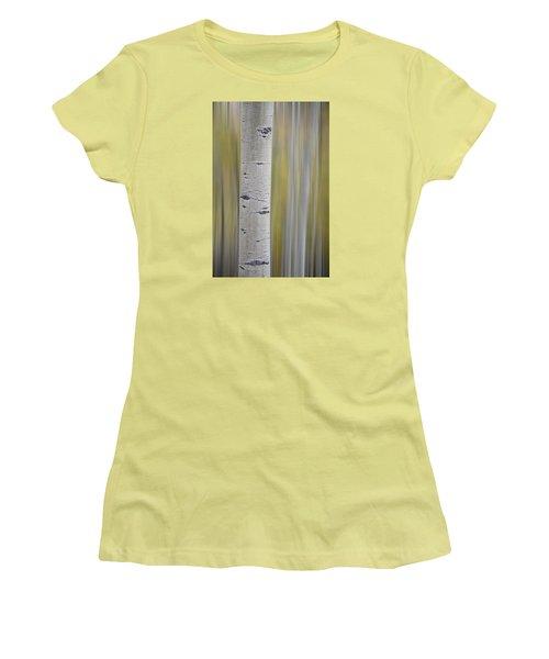 Aspen Women's T-Shirt (Junior Cut) by Gary Lengyel