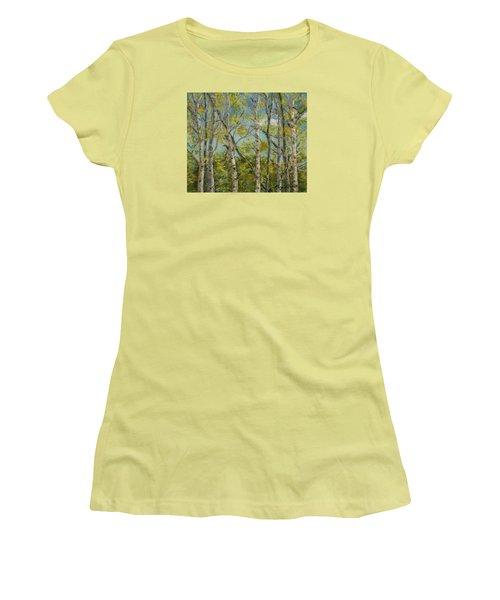 Aspen Glow Women's T-Shirt (Athletic Fit)