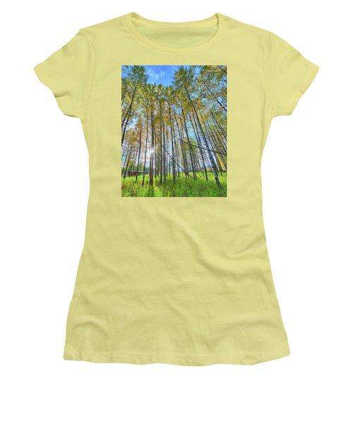 Aspen Grove Women's T-Shirt (Athletic Fit)