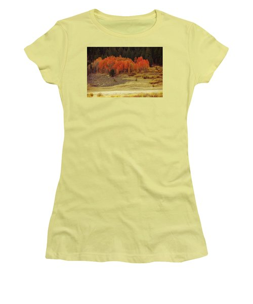 Aspen, October, Hope Valley Women's T-Shirt (Athletic Fit)