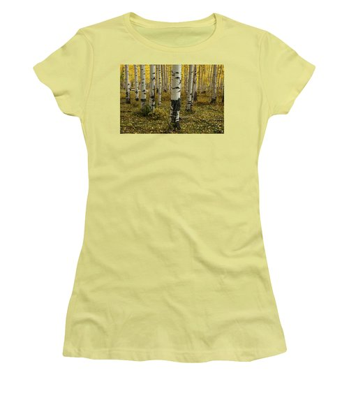 Aspens - 0245 Women's T-Shirt (Athletic Fit)