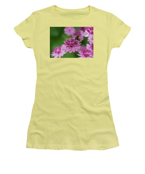 Pollination Women's T-Shirt (Junior Cut) by Shirley Mitchell