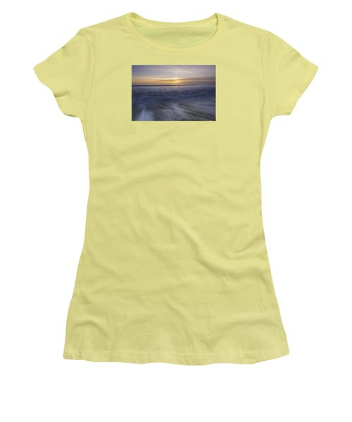 At Beach Women's T-Shirt (Junior Cut) by Catherine Lau