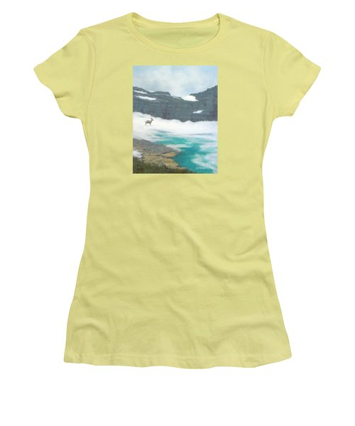 At Grinnell Glacier Women's T-Shirt (Athletic Fit)