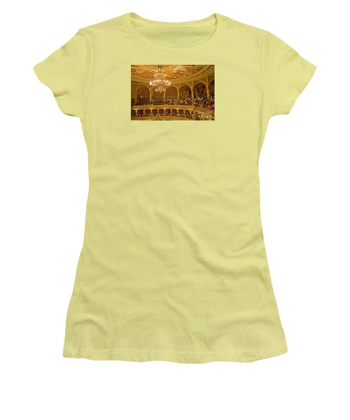 At The Budapest Opera Women's T-Shirt (Junior Cut) by Madeline Ellis