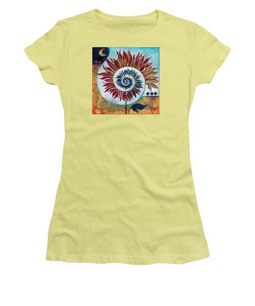 At The Edge Of Day And Night Women's T-Shirt (Junior Cut) by Anna Ewa Miarczynska