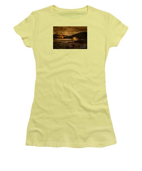 Attack At Nightfall Women's T-Shirt (Junior Cut) by Amanda Elwell
