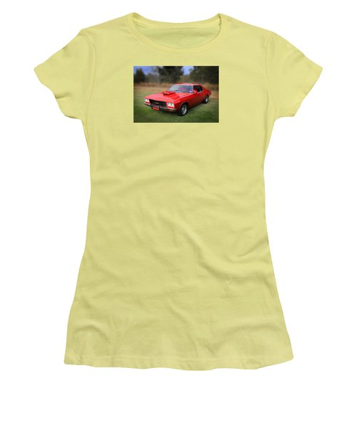 Women's T-Shirt (Junior Cut) featuring the photograph Aussie Muscle by Keith Hawley