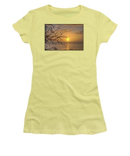 Australian Sunrise Women's T-Shirt (Junior Cut) by Geraldine Alexander