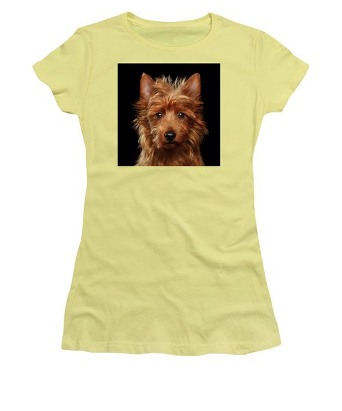 Australian Terrier Women's T-Shirt (Athletic Fit)
