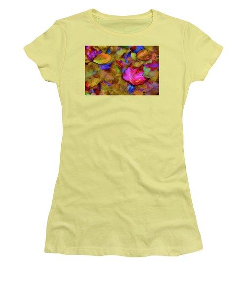 Autumn Breeze Women's T-Shirt (Junior Cut) by Paul Wear