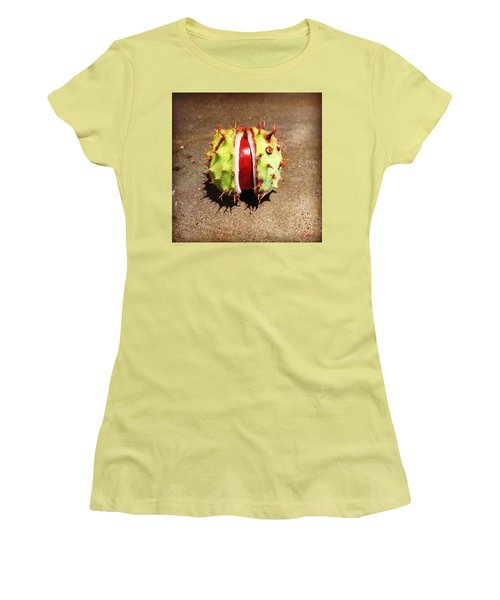 Autumn Burnish Women's T-Shirt (Athletic Fit)