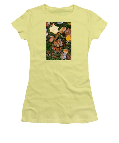 Autumn Carpet 001 Women's T-Shirt (Athletic Fit)
