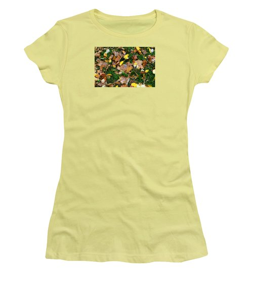 Autumn Carpet 002 Women's T-Shirt (Athletic Fit)