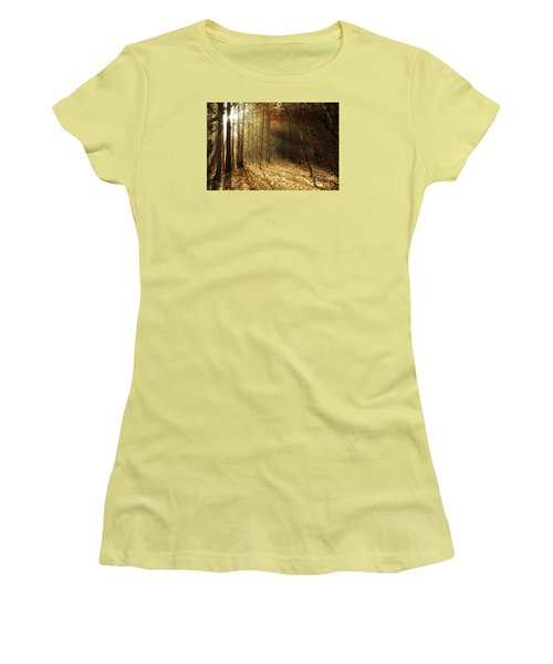 Autumn Glory Women's T-Shirt (Athletic Fit)