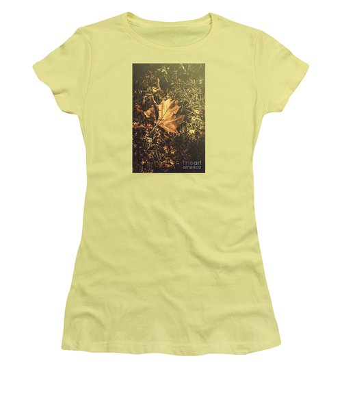 Women's T-Shirt (Athletic Fit) featuring the photograph Autumn In Narrandera by Jorgo Photography - Wall Art Gallery