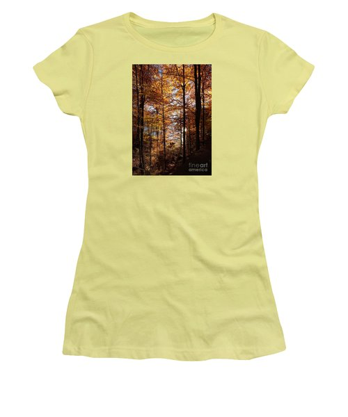 Autumn In The Alps 4 Women's T-Shirt (Athletic Fit)