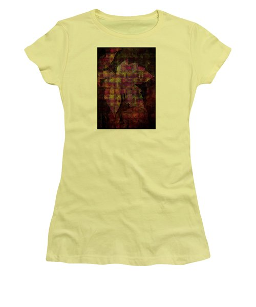 Autumn Is Here Women's T-Shirt (Junior Cut) by Mimulux patricia no No